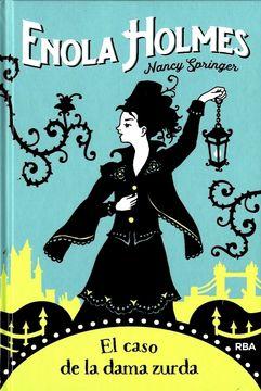 portada Enola Holmes 2: El Caso de la Dama Zurda