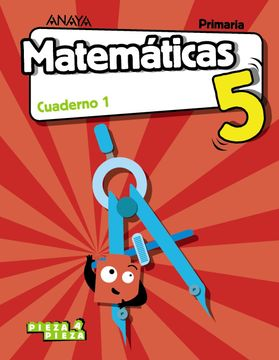 portada Matematicas 5Prim 1ej Vvaa