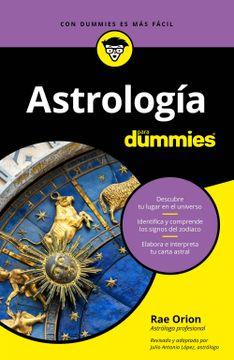 portada Astrología Para Dummies