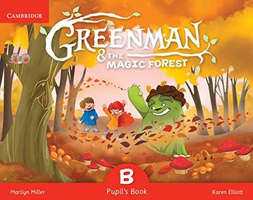 portada Greenman and the Magic Forest b Pupil's Book With Stickers and Pop-Outs (libro en Inglés)