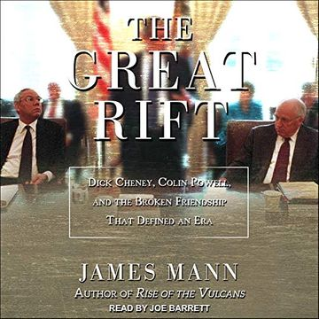 portada The Great Rift: Dick Cheney, Colin Powell, and the Broken Friendship That Defined an era (libro en Inglés) ()