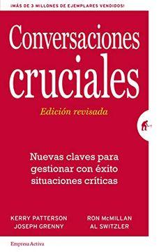 portada Conversaciones Cruciales. Ed. Revisada