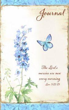 portada blue flowers ll journal - lord's mercies