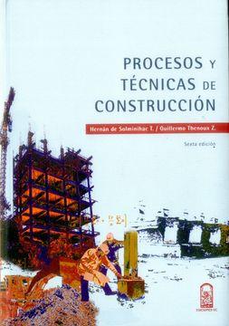 portada Procesos y Técnicas en Construcción Sexta Edicion