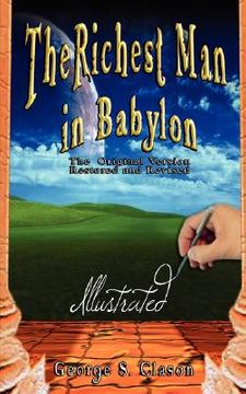 portada the richest man in babylon - illustrated