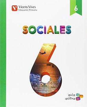 portada Sociales 6+ castilla y leon separata (aula activa) (Paperback)