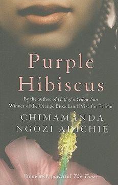 portada purple hibiscus