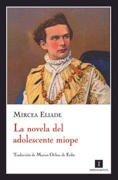 portada La Novela del Adolescente Miope