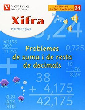 portada Xifra Quadern 24. Matematiques. Reforç i Ampliacio (libro en Catalan)