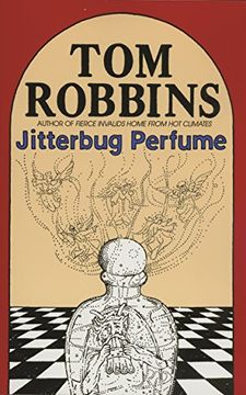 portada Jitterbug Perfume (libro en Inglés)
