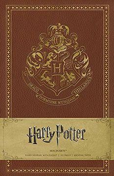 portada Harry Potter Hogwarts Hardcover Ruled Journal (libro en Inglés)