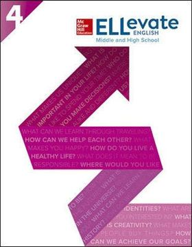 portada Ellevate English: Middle and High School Student Book Level 4 (libro en Inglés)