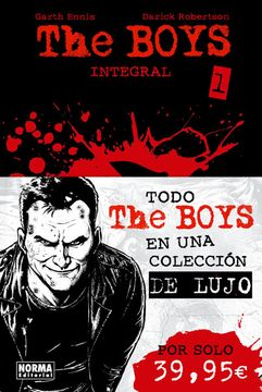 portada The Boys Integral Vol. 1