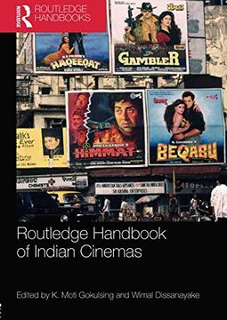 portada Routledge Handbook of Indian Cinemas (Routledge Handbooks) (libro en Inglés)