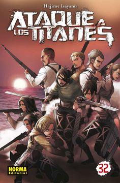 portada Ataque a los Titanes 32