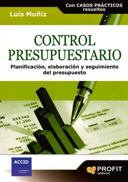 portada Control Presupuestario: Planificación, Elaboración, Implantación y Seguimiento del Presupuesto