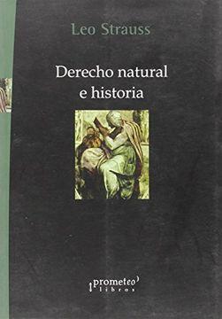 portada Derecho Natural e Historia