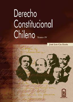 portada Derecho Constitucional Chileno Tomo iv