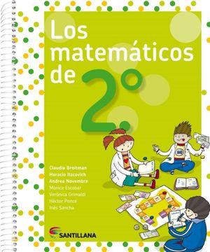 portada Matematicos de 2 Santillana (Novedad 2017)