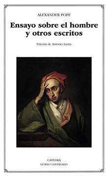 portada Ensayo Sobre el Hombre y Otros Escritos