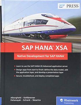 portada Sap Hana Xsa: Native Development for sap Hana (Sap Press) (libro en inglés)