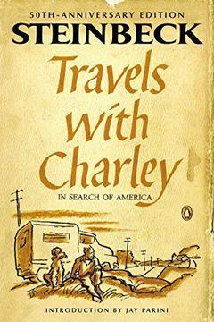 portada [Viajes con Charley en Busca de América (Aniversario) (Penguin Classics Deluxe Editions)] por Steinbeck, John (Author) 2012[Paperback] (libro en Inglés)