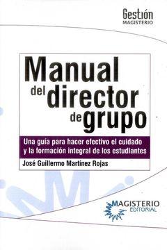 portada Manual del Director de Grupo