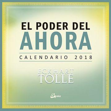 portada Calendario 2018 - el Poder del Ahora