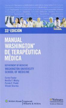portada Manual Washington de Terapéutica Médica