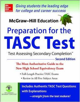 portada McGraw-Hill Education Preparation for the TASC Test 2nd Edition: The Official Guide to the Test (Test Prep)