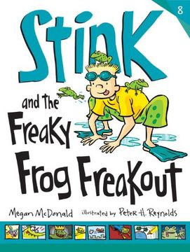portada Stink and the Freaky Frog Freakout (libro en Inglés)