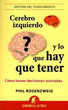 portada Cerebro Izquierdo y lo que hay que Tener