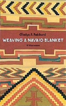 portada weaving a navajo blanket