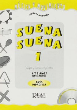portada Suena, Suena v. 1 Profesor (+Cd) (Guia Didactica y Material Complementario) (libro en Italiano)