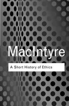 portada A Short History Of Ethics (routledge Classics)
