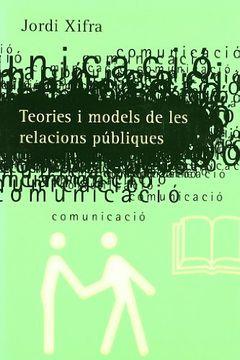 portada Teories i models de les relacions públiques
