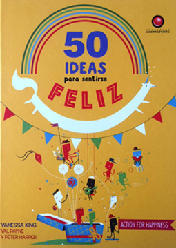 portada 50 Ideas Para ser Feliz
