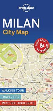 portada Lonely Planet Milan City map (libro en inglés)