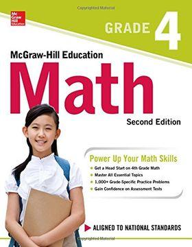 portada Mcgraw-Hill Education Math Grade 4, Second Edition (libro en inglés)