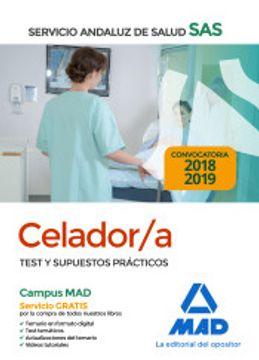 portada Celador del Servicio Andaluz de Salud. Test y Supuestos Prácticos