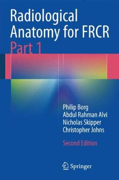 portada Radiological Anatomy for Frcr Part 1 (libro en Inglés)