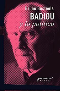 portada Badiou y lo Político