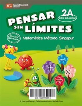 portada Pensar sin Limites Matematica 2º Basico. Psl Singapur (Texto del Alumn