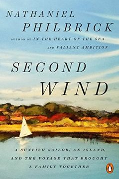 portada Second Wind: A Sunfish Sailor, an Island, and the Voyage That Brought a Family Together (libro en Inglés)