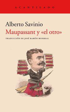 """portada Maupassant y """"el Otro"""""""