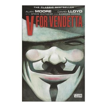 portada V for Vendetta (libro en Inglés)
