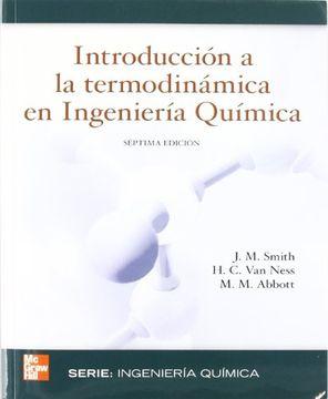 portada Introduccion a la Termodinamica en Ingenieria Quimica