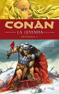 portada Conan la Leyenda (Integral) nº 01/04