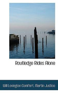 portada routledge rides alone