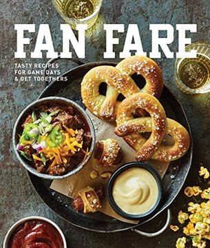 portada Fan Fare: Game Day Recipes for Delicious Finger Foods, Drinks & More